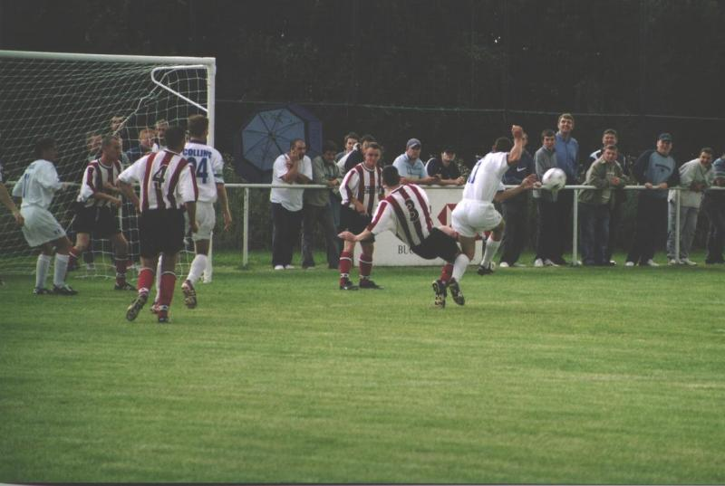 Chester City on the attack