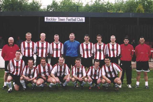 Buckley Town F C 2002-03