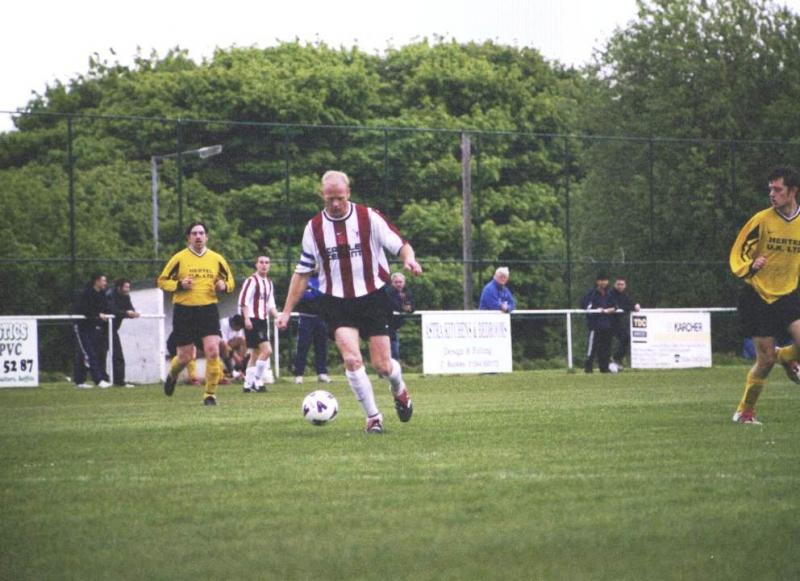 Skipper shows his ball skills