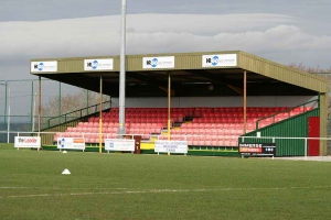 Buckley Town FC Main Stand